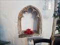 Image for Piscinas & Sedilia - St Andrew - Barningham, Suffolk