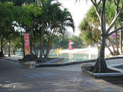 Streets Beach Pool Brisbane Queensland Australia Public Swimming Pools On