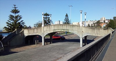 Cropped photo of the Arched Bridge. 0911, Wednesday, 10 July, 2019