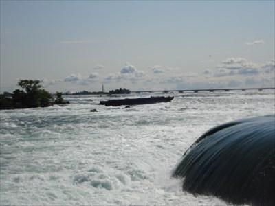 The Niagara Scow - Niagara Falls, Ontario, Canada - Shipwrecks on Waymarking.com