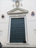Image for Central Doorway - Santa Maria sopra Minerva - Roma, Italy