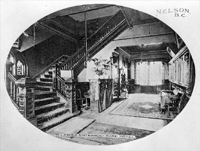 Interior circa 1910