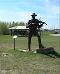 Image for The Fiddler's violin - Davidson, Saskatchewan