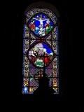 Image for Vitraux de l'Eglise Saint Paulin Saint Liphard - Rom, Nouvelle Aquitaine, France