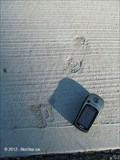 Image for Child's Footprints in Concrete by Milton Police Station - Milton, MA