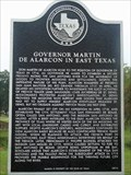 Image for Governor Martin de Alarcon in East Texas