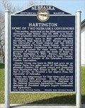 Image for Hartington, Home of two Nebraska Governors