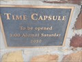 Image for Stroud High School Time Capsule - Stroud, OK