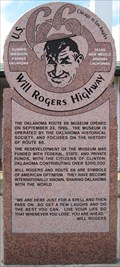 Image for Route 66 Will Rogers Highway - Route 66 Museum - Clinton, Ok