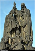 Image for St. Cyril and St. Methodius on Charles Bridge / Sv. Cyril a Sv. Metodej na Karlove moste (Prague)