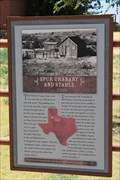 Image for Spur Granary and Stable -- Ranching Heritage Center, Lubbock TX