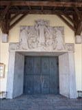 Image for Türe Pfarrkirche St. Georg - Oberteisendorf, Lk Berchtesgadener Land, Bayern, D