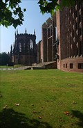 Image for Coventry Cathedral - the third and modern one.