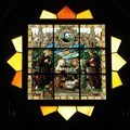 Image for Stained glass window - Church of St. Catherine of Alexandria - Bethlehem, Palestine