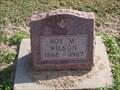 Image for 101 - Roy M. Wilson - El Reno Cemetery - El Reno, OK