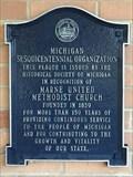 Image for Marne United Methodist Church Michigan Sesquicentennial Organization - Marne, Michigan