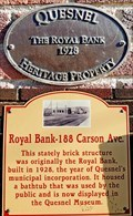 Image for Royal Bank-188 Carson Ave - Quesnel, BC