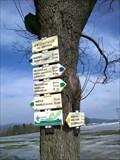 Image for Rozcestnik / Tourist Arrows, Príchovice - Pod hrbitovem, CZ