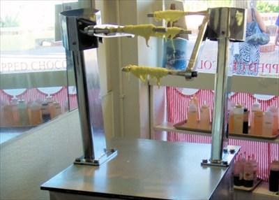 taffy machine