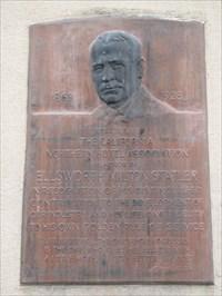 Ellsworth Milton Statler plaque, San Francisco, CA