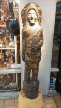 Image for Moccasins West Cigar Store Indian - Westfield Mall - Palm Desert, CA