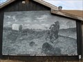 Image for Land Run Mural - Luther, OK