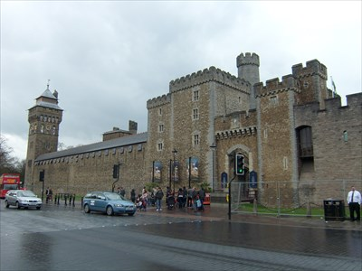 Cardiff Castle - Wales.