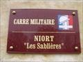 Image for carré militaire du cimetiere des Sablieres - Niort,France