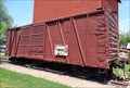 Image for Grain Elevator - Box Car - Atlanta, Illinois, USA.
