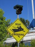 Image for Boat Crossing Signs, Harbour Rd, Sidney BC