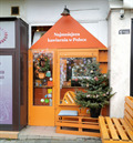 Image for SMALLEST café in the country - Warsaw, Poland