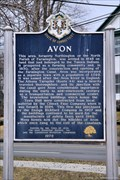 Image for Avon Historical Marker