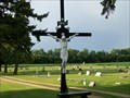 Image for Cross, Holy Rosary Church, Kranzburg, South Dakota