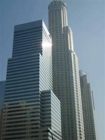 Citi Bank, US Bank Tower, Gas Company Tower-Downtown Los Angeles, CA