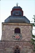 Image for Uhr der Marktkirche - Bad Bergzabern/Germany