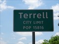 Image for Terrell, TX - Population 15816
