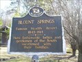 Image for Blount Springs - Blount County, Alabama