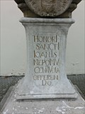Image for 1715 - Statue of St. John of Nepomuk - Vyskov, Czech Republic