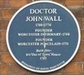 Image for Doctor John Wall, Worcester, Worcestershire, England