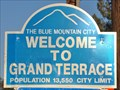 Image for Welcome to Grand Terrace ~ The Blue Mountain City