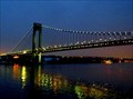 Image for Verrazano Bridge at Night - New York City, NY