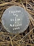 Image for T15S R9E S5 4 1/4 COR - Deschutes County, OR