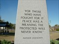 Image for Author Unknown - War Memorial - Jenks, OK