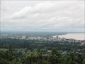 Image for Mukdahan City from Phu (mountain) Manorom—Mukdahan, Thailand.
