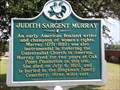Image for Judith Sargent Murray - Natchez, MS