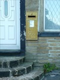Image for Gold Post Box for Paralympian Hannah Cockroft - Mount Tabor, UK