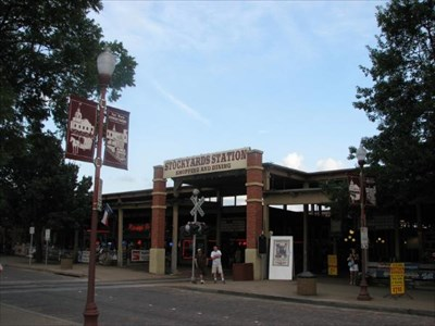 in the Fort Worth Stockyards Historic District