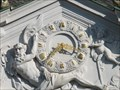 Image for Clock at Castle Augustusburg - Brühl - North Rhine-Westphalia / Germany