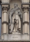 Image for Monarchs – King William IV Of United Kingdom On Side Of City Hall - Bradford, UK