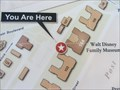 """Image for Walt Disney Museum """"You are here"""" map - San Francisco, CA"""